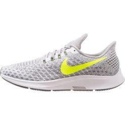 Nike Performance AIR ZOOM PEGASUS  Obuwie do biegania treningowe white/bright crimson/volt/black/atmosphere grey. Białe buty do biegania damskie Nike Performance, z materiału. Za 509,00 zł.