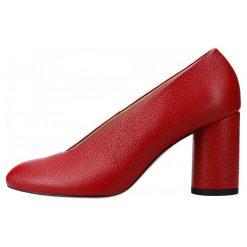 L37 Czółenka Damskie Luna 41 Czerwony. Czerwone buty ślubne damskie L37. Za 585,00 zł.