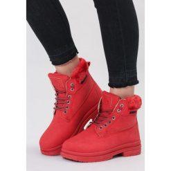 Czerwone Traperki High Life. Czerwone buty zimowe damskie marki vices. Za 89,99 zł.