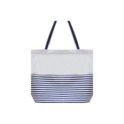 Torba plażowa MARINA I. Białe torby plażowe marki Aleworek, z bawełny, duże. Za 93,00 zł.
