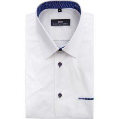 KOSZULA 15-04-03-W ARTURO. Brązowe koszule męskie marki QUECHUA, m, z elastanu, z krótkim rękawem. Za 149,00 zł.