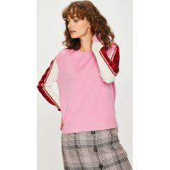 Tommy Jeans - Sweter DW0DW05152. Szare swetry klasyczne damskie Tommy Jeans, l, z dzianiny, z okrągłym kołnierzem. Za 499,90 zł.