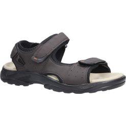 Brązowe sandały na rzepy Casu GT136009. Brązowe sandały męskie marki Casu, na rzepy. Za 59,99 zł.