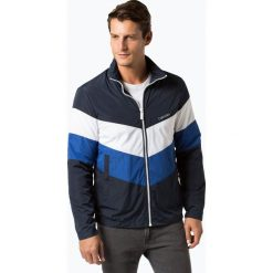 Calvin Klein - Kurtka męska, niebieski. Niebieskie kurtki męskie marki Calvin Klein, m, w paski, sportowe. Za 899,95 zł.