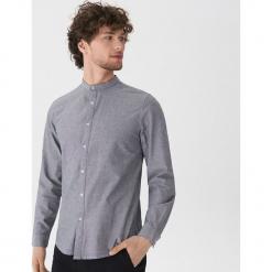 Koszula z bawełny oxford - Szary. Szare koszule męskie marki House, l, z bawełny. Za 79,99 zł.