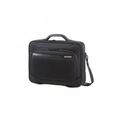 """Torba na laptopa Samsonite Vectura Office case-001 16"""" czarna. Czarne torby na laptopa marki Samsonite, z tkaniny. Za 196,99 zł."""