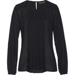 Bluzki asymetryczne: Bluzka bonprix czarny