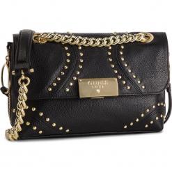 Torebka GUESS - HWVCKY L8221 BLA. Czarne torebki klasyczne damskie Guess, z aplikacjami, ze skóry. Za 889,00 zł.