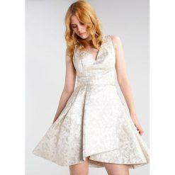 Laona Sukienka koktajlowa cream. Szare sukienki koktajlowe marki Laona, z materiału. W wyprzedaży za 509,25 zł.