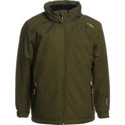 CMP FIX HOOD Kurtka narciarska olive. Brązowe kurtki damskie narciarskie CMP, z materiału. W wyprzedaży za 135,85 zł.