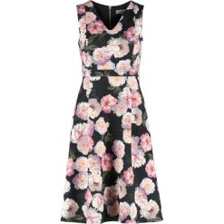 Sukienki hiszpanki: Dorothy Perkins Petite DIGITAL FLORAL  Sukienka koktajlowa black/pink