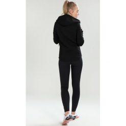 Superdry SPORT GYM TECH LUXE ZIPHOOD Bluza rozpinana black. Czarne bluzy rozpinane damskie marki Superdry, xxs, z elastanu. W wyprzedaży za 341,10 zł.