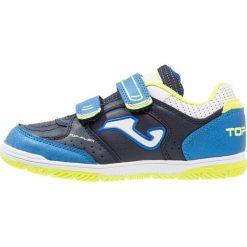 Joma TOP FLEX Halówki blau. Niebieskie buty sportowe chłopięce marki Retour Jeans, z bawełny. Za 159,00 zł.