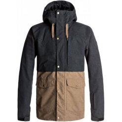 Quiksilver Kurtka Męska Black L. Czarne kurtki narciarskie męskie Quiksilver, na zimę, l, z materiału, thinsulate. W wyprzedaży za 849,00 zł.