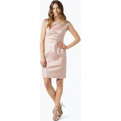 Ambiance - Damska sukienka wieczorowa, beżowy. Brązowe sukienki balowe Ambiance, z satyny. Za 579,95 zł.