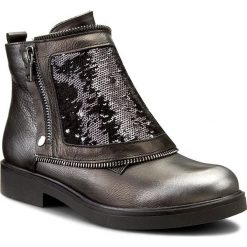 Botki CARINII - B3636/SO H87-G07-POL-B79. Szare buty zimowe damskie Carinii, ze skóry. W wyprzedaży za 289,00 zł.