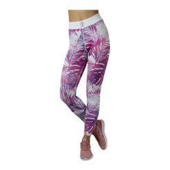 Spodnie damskie: GymHero Legginsy damskie Las Palmas różowe r. S