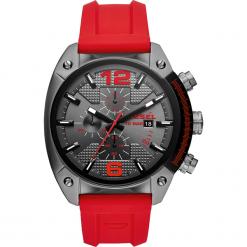 Zegarek DIESEL - Overflow DZ4481  Red/Gunmetal. Czerwone zegarki męskie Diesel. Za 849,00 zł.