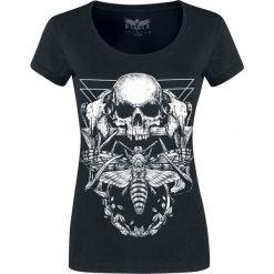 Black Premium by EMP Keep Me Going Koszulka damska czarny. Czarne bluzki z odkrytymi ramionami Black Premium by EMP, l, z nadrukiem, z okrągłym kołnierzem. Za 79,90 zł.