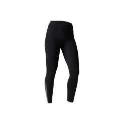 Legginsy slim Gym & Pilates 520 damskie. Czarne legginsy sportowe damskie marki DOMYOS, l, z bawełny. W wyprzedaży za 39,99 zł.