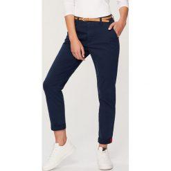 Odzież męska: Spodnie chino - Granatowy