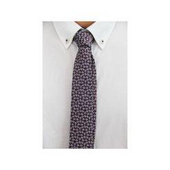 Krawat jedwabny slim #31. Niebieskie krawaty męskie The bow bow ties, z jedwabiu. Za 99,00 zł.