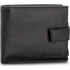 Duży Portfel Męski KAZAR - 31507-01-00 Black. Czarne portfele męskie marki Kazar, ze skóry. W wyprzedaży za 279,00 zł.