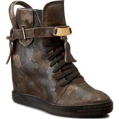 Sneakersy SERGIO BARDI - Manuela FW127293117RO 141. Brązowe sneakersy damskie Sergio Bardi, ze skóry. W wyprzedaży za 249,00 zł.