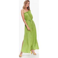 Sukienki: SUKIENKA DAMSKA GŁADKA