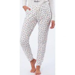 Etam - Spodnie piżamowe Olympe. Szare piżamy damskie Etam, l, z bawełny. Za 99,90 zł.