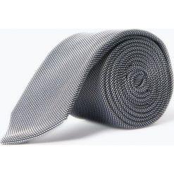BOSS - Krawat jedwabny męski, czarny. Czarne krawaty męskie Boss, z jedwabiu. Za 299,95 zł.