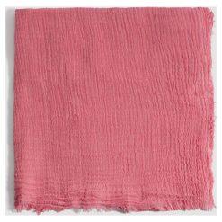 Mango - Szal Linen. Różowe szaliki damskie Mango, z poliamidu. W wyprzedaży za 29,90 zł.
