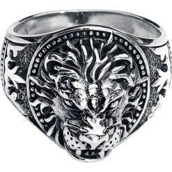 EtNox Löwe Pierścień srebrny. Żółte sygnety męskie marki W.KRUK, złote. Za 144,90 zł.