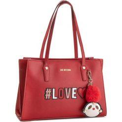 Torebka LOVE MOSCHINO - JC4070PP16LK0500 Rosso. Czerwone torebki klasyczne damskie marki Love Moschino, ze skóry ekologicznej, duże. W wyprzedaży za 729,00 zł.