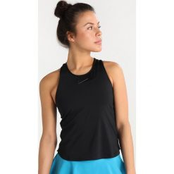 Nike Performance DRY SLAM Koszulka sportowa black. Czarne t-shirty damskie Nike Performance, l, z elastanu. Za 159,00 zł.