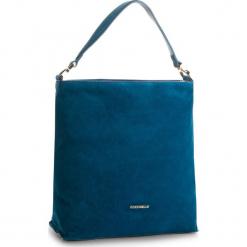 Torebka COCCINELLE - CD6 Arlettis Suede E1 CD6 13 02 01  Saphir B02. Niebieskie torebki klasyczne damskie marki Coccinelle, ze skóry. W wyprzedaży za 799,00 zł.