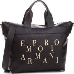 Torebka EMPORIO ARMANI - Y3D106 YH59A 80001  Black. Czarne torebki klasyczne damskie Emporio Armani, ze skóry ekologicznej. Za 1239,00 zł.