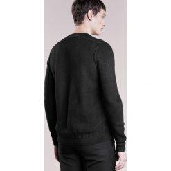 BOSS CASUAL KALMUT Sweter black. Czarne kardigany męskie marki BOSS Casual, m, z materiału. W wyprzedaży za 543,20 zł.