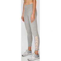 Adidas Performance - Legginsy. Szare legginsy we wzory adidas Performance, l, z bawełny. W wyprzedaży za 99,90 zł.