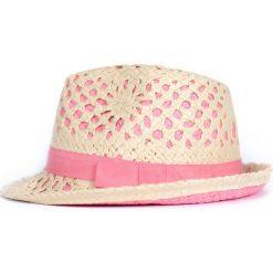 Kapelusz damski Pink elegance różowy. Czerwone kapelusze damskie Art of Polo. Za 49,91 zł.