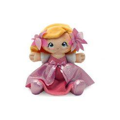 Przytulanki i maskotki: Lalka, przytulanka w różowej sukience (64182)