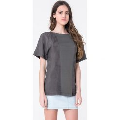 T-shirty damskie: T-shirt w kolorze szarym