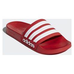 Buty męskie: Adidas Klapki męskie Adilette Shower czerwone r. 40 1/2 (AQ1705)