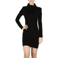 Guess Sukienka Damska S Czarny. Czarne sukienki marki Guess, s, z aplikacjami, eleganckie. W wyprzedaży za 309,00 zł.