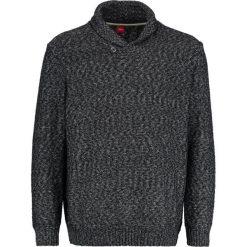 Swetry klasyczne męskie: s.Oliver RED LABEL Sweter black melange