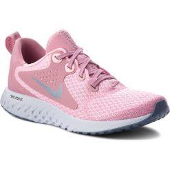 Buty NIKE - Legend React (GS) AH9437 600 Pink/Ashen Slate. Czerwone buty do biegania damskie Nike, z materiału. W wyprzedaży za 289,00 zł.