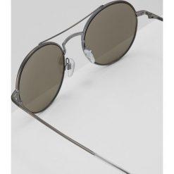 Emporio Armani Okulary przeciwsłoneczne gunmetal. Szare okulary przeciwsłoneczne damskie lenonki Emporio Armani. Za 649,00 zł.