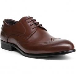 Buty męskie 84-M-906-4. Brązowe buty wizytowe męskie Wittchen, z syntetyku. Za 229,00 zł.