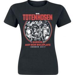Die Toten Hosen Zurück auf dem Bolzplatz Koszulka damska czarny. Czarne bluzki asymetryczne Die Toten Hosen, l. Za 62,90 zł.