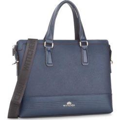 Torba na laptopa WITTCHEN - 85-3U-114-7 Granatowy. Niebieskie plecaki męskie Wittchen. W wyprzedaży za 409,00 zł.
